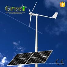 2kw vento Solar híbrido sistema para uso doméstico