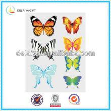 Красивые 3D ПВХ бабочка стены стикеры