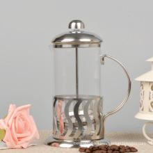 Prensa de café francesa de vidrio a prueba de calor, fabricante de té