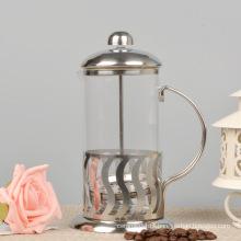 Imprensa de café francês de vidro à prova de calor, Teamaker