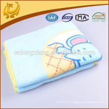 Soft Nursery Cotton Blanket Enfants avec réception de couvertures Boy / Girl Swaddling Blankets