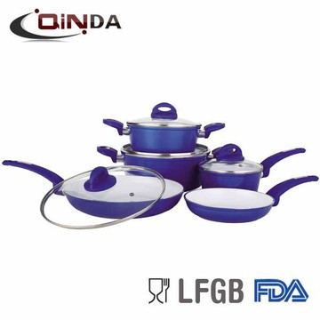 Hot new products for aluminium induction cooker set