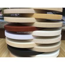 Cinta de bandas de borde de PVC de 0.4 * 19 mm para tablero de partículas