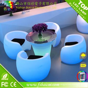LED Bar Mobiliário Outdoor / Hotel Mobiliário / Mobiliário de Jardim