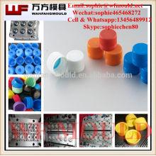 Molde de inyección de tapa de botella de agua de 28 mm / inyección de tapa de botella moldeada Fábrica de moldes