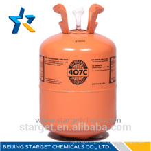 HFC refrigerant gas R407c&High purity R407c