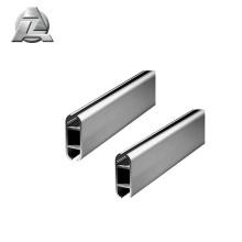 Assemblage facile du profilé en aluminium au keder