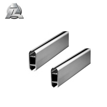 Easy assembly aluminum profile to keder