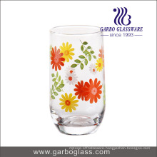 10.5oz New Printed Blowing Glass Tumbler