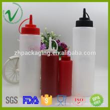 LDPE plástico squeeze garrafas contêineres garrafa de alta qualidade atacado por atacado