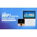 Visualizador digital da porta do wifi da câmera de 4.5inch HD de ACTOP