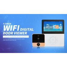4.5 inch Wireless Smart Wifi Door Camera