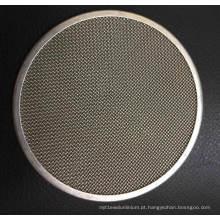 Disco de filtro de forma redonda