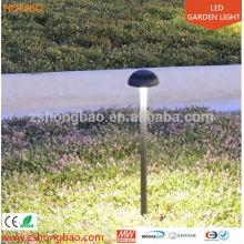 Aço inoxidável ao ar livre led jardim fonte luz 12w