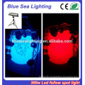 Wedding concert stage theater step lighting auto 300w led follow spot