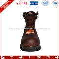sola de borracha confortável sapatos de segurança impermeáveis
