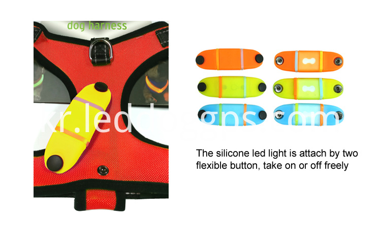 Glow In The Dark Led Harness