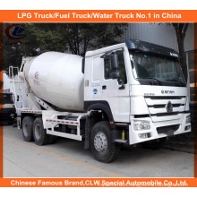 Heavy Duty Sinotruk HOWO 14m3 Concrete Mixer Truck 371HP
