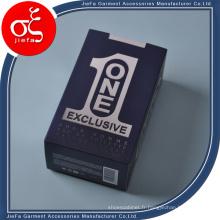Boîte de logo adaptée aux besoins du client / boîte-cadeau de papier d'impression personnalisée / boîte d'apperel