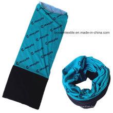 Bufanda polar multifuncional inconsútil del snowboard del invierno del paño grueso y suave impreso por encargo del logotipo del molde completo