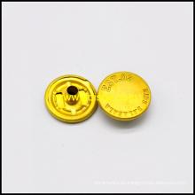 Material botón rápido del latón de alta calidad