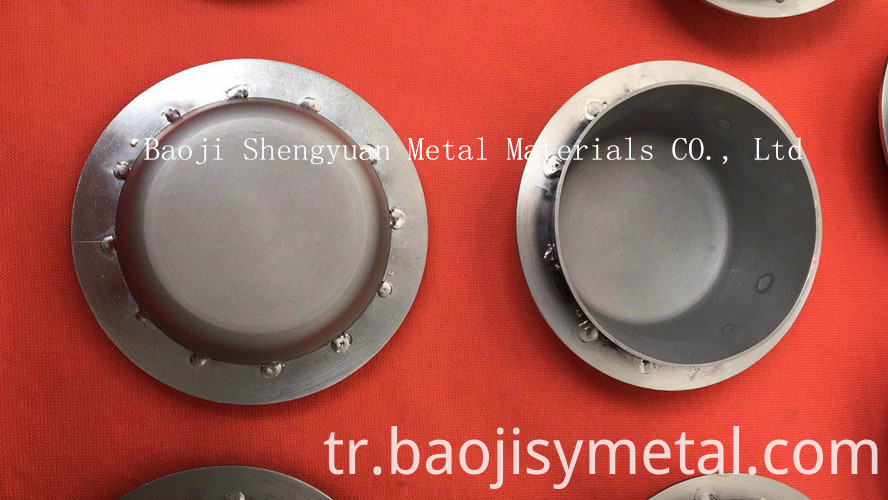 high temperature resistance spinning Molybdenum Crucible1