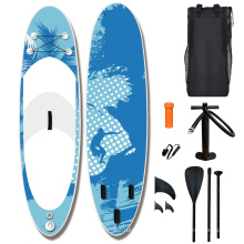 Wholesale Popular EVA Transparent Stand Up Paddle Board Inflatable SUP Surfboard Paddle Board Pump