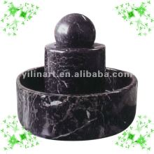 indoor carved bright marble rolling ball sculpture YL-X007
