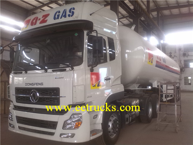 30 TON LPG Semi Trailer Tanks