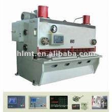 Cisaille guillotine hydraulique, machine de découpe Siemens Motor, cisailleuse Siemens Electric Parts