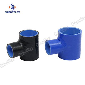 Polyester+reinforcement+t-+shape+silicone+hoses
