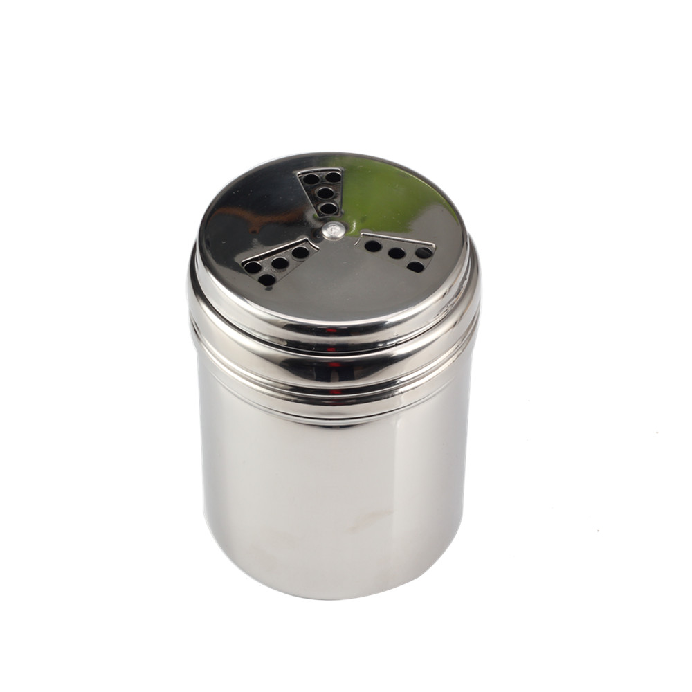 Salt Shaker Metal Salt Pepper Shaker