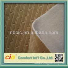 Siège-auto polyester USA en relief Designs brossés tissu tissus de liaison
