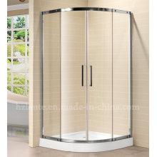 Moderne Edelstahl Fiber Glas Duschraum mit Tablett (LTS-030)
