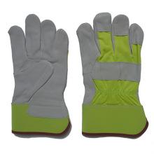 Рабочие перчатки для работы с кожей из натуральной кожи