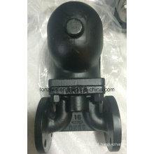 Armadilha de vapor do flutuador de esfera de extremidade de flange de aço fundido