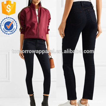 Mid-rise Skinny Jeans Manufacture Wholesale Fashion Women Apparel (TA3056P)