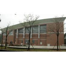 Индивидуальная конструкция фермы из нержавеющей стали для гимназии, офисного здания, торгового центра, библиотеки