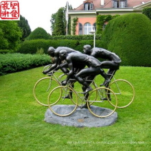 2016 Neue Bronzefigur Urban Statue Bronze Skulptur Für Garten