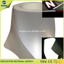 0.8mm Silver Reflective PU leather for sports shoes, running shoes