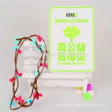 Individuelle Werbe-Kunst-Papier-Kühlschrank-magnet