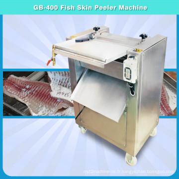 Machine d'épluchage de peau de poisson, peau de Tilapia Mossambica de calmar enlevant la machine Fgb-400