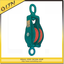 High Quality Snatch Block with Hook or Shackle