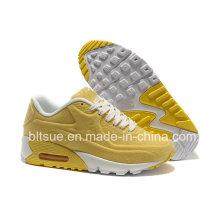 Chaussures de sport à la mode couleur jaune
