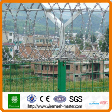 steel razor barbed wire design