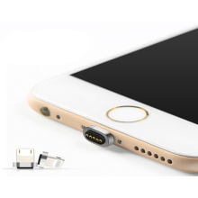 Spring Loaded Brass Pogo Pin Magnetic Adapter for iPhone Charger