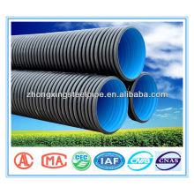 prix de tubes annelés pour le PEHD 75mm