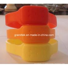 Bracelets de silicone anti-moustiques