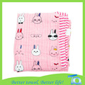 Colorful Reversible Muslin Cotton Baby Swaddle Blanket