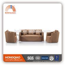 Sofá-cama colorido brilhante de plástico fabricado na China
